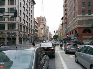 Will cycling down Broadway be more safe?