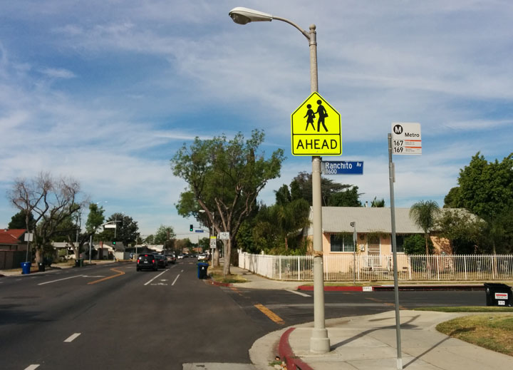 The reason for safer streets?
