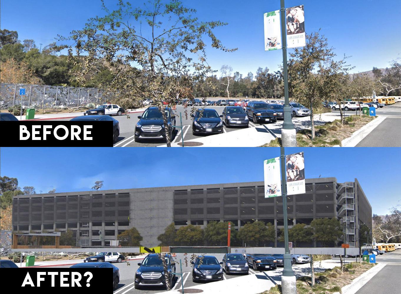 La Zoo Master Plan Prioritizing Parking Pollution Ciclavalley