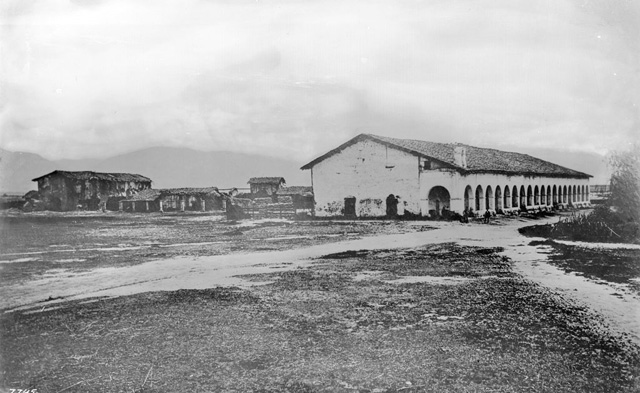 Mission San Fernando in 1870(Photo: DWP)