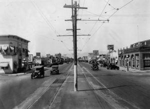 Van Nuys Blvd.(1926) - Photo: DWP